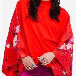 Gorgeous Free People Sydney's Tuesday Kimono Top